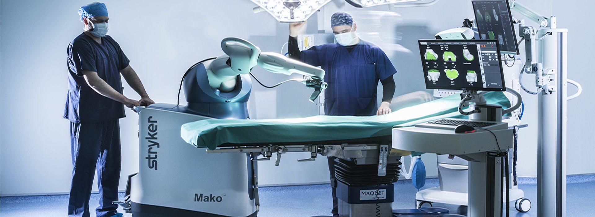 Mako Robotic Arm Assisted System Hygeia Hospital