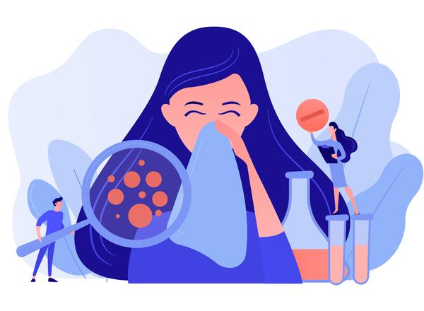 Αλλεργική ρινίτιδα:  ποια τα συμπτώματα και ποια η θεραπεία της;