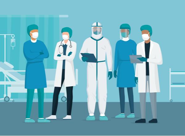 COVID-19: Οδηγίες προστασίας για νοσηλευτές και ιατρούς
