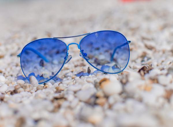 Γυαλιά με φίλτρα με μπλε χρώμα