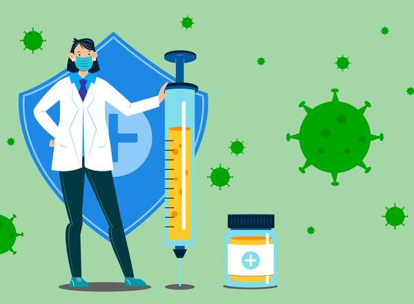 Φυσική λοίμωξη VS εμβολιασμός για Covid-19